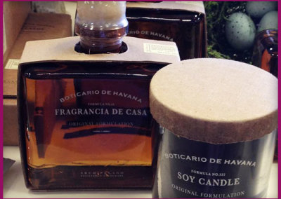 Botcario de Havana fragrance and candles